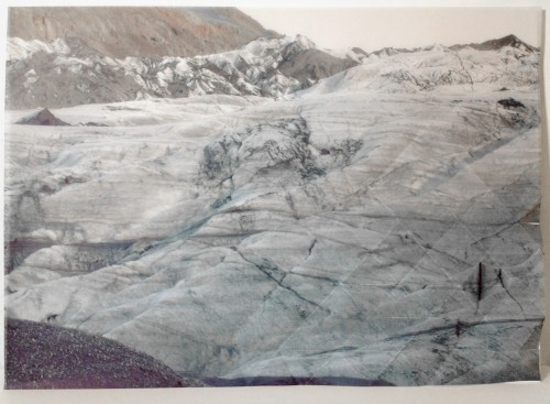 Le paradoxe de l'archi-fossile,  Fading Landscapes I