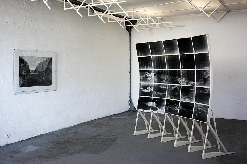"""Espace d'expostion Short, Nantes - """"Plongement"""" Pia Rondé & Fabien Saleil"""