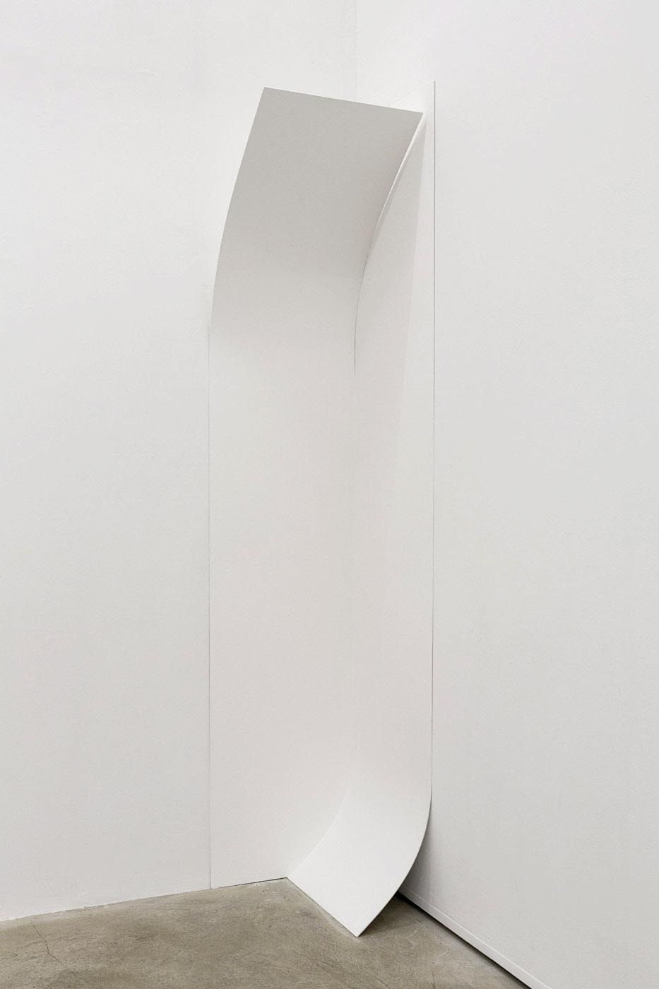 Arrondi d'angles, 2015 - bois peint