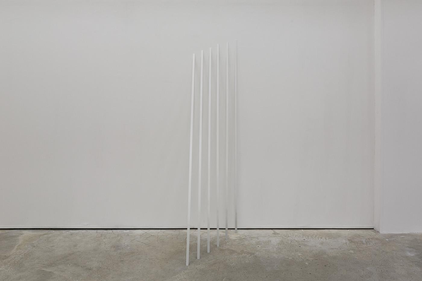 Abscissa linea, 2013 - Bois, acrylique