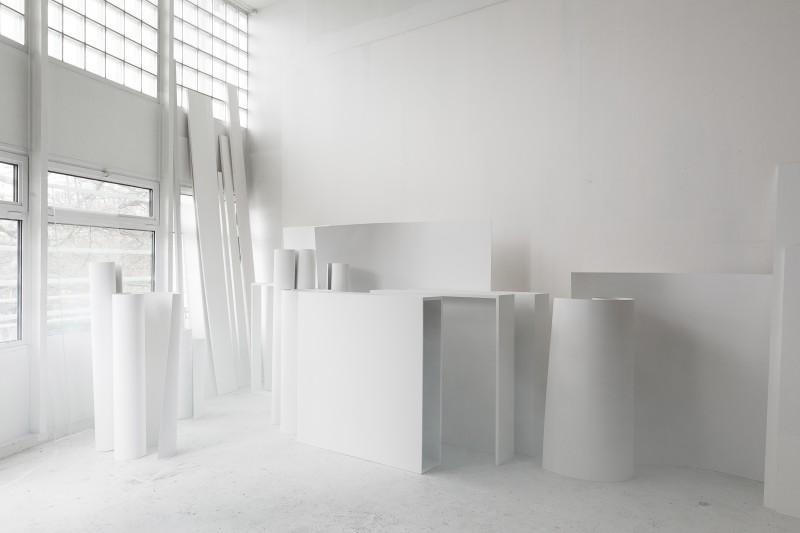 Indagatio 3, vue d'atelier   Mara Fortunatovic